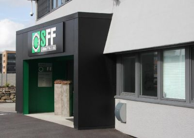Ny hovedinngang for SFF på Sandnes